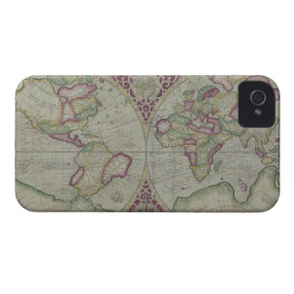 World Map 12 Case-Mate iPhone 4 Case