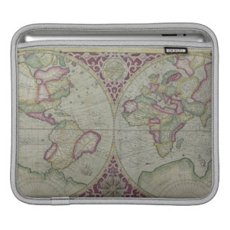 World Map 12 iPad Sleeve