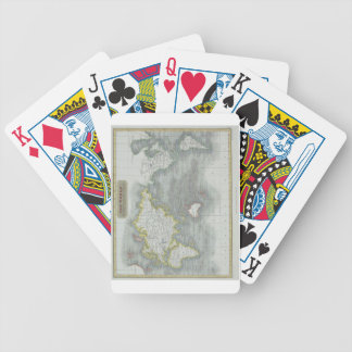World Map 13 Bicycle Playing Cards