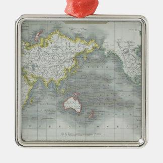 World Map 13 Christmas Ornament