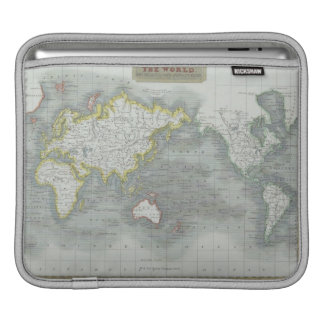 World Map 13 iPad Sleeve