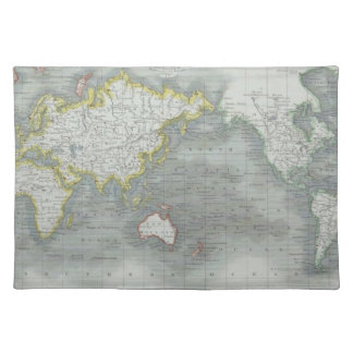 World Map 13 Placemat