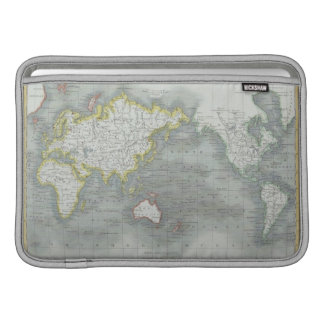 World Map 13 Sleeve For MacBook Air