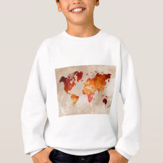 world map 13 sweatshirt