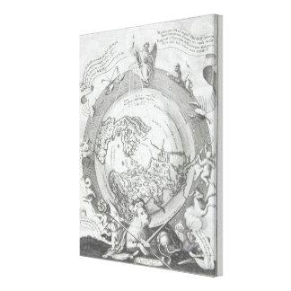 World Map 14 Canvas Print