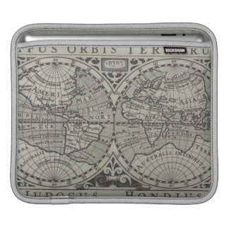 World Map 14 iPad Sleeve
