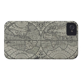 World Map 14 iPhone 4 Covers