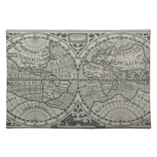 World Map 14 Placemat