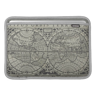 World Map 14 Sleeve For MacBook Air