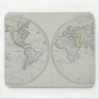 World Map 15 Mouse Mat