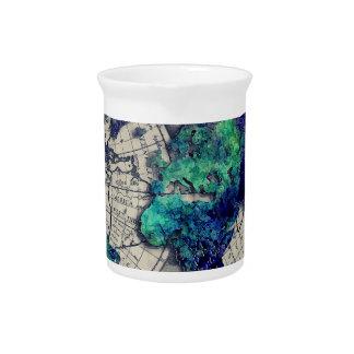 world map 15 pitcher