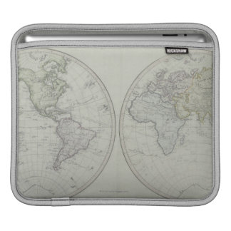 World Map 15 Sleeves For iPads