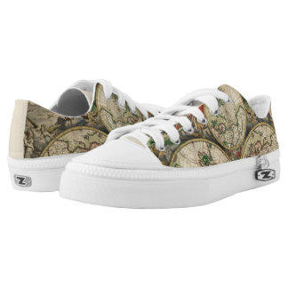 World Map 1689 Low Tops