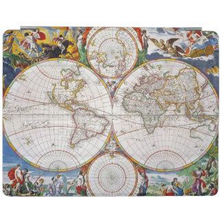 WORLD MAP, 17th CENTURY iPad Cover