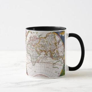 WORLD MAP, 17th CENTURY Mug
