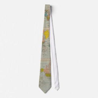 World Map 1910 Tie