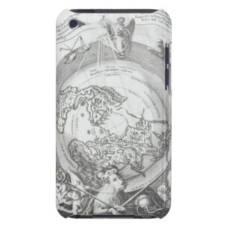 World Map 2 Barely There iPod Cases