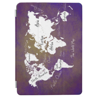 world map 2 iPad air cover