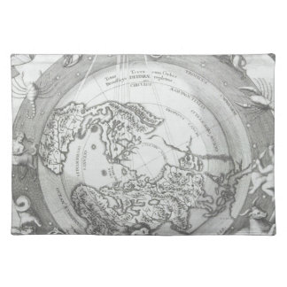 World Map 2 Placemat