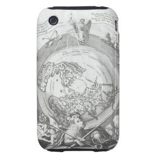 World Map 2 Tough iPhone 3 Case