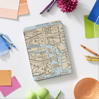 WORLD MAP 2ND CENTURY iPad AIR COVER