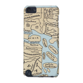 WORLD MAP 2ND CENTURY iPod TOUCH (5TH GENERATION) COVER
