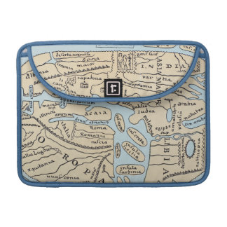 WORLD MAP 2ND CENTURY SLEEVE FOR MacBook PRO