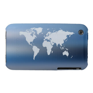 World Map 4 iPhone 3 Case-Mate Case