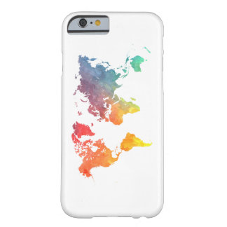 world map 5 barely there iPhone 6 case