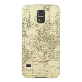 World Map 5 Galaxy S5 Covers