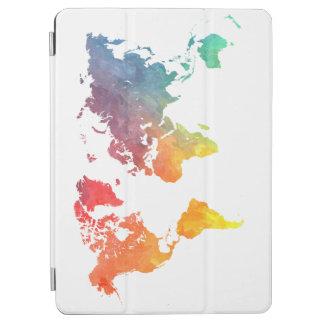 world map 5 iPad air cover