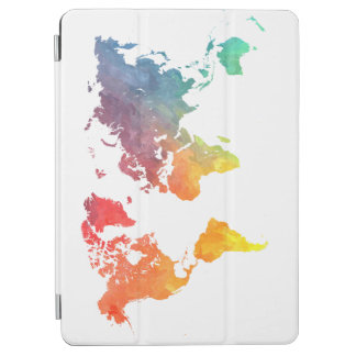 world map 5 iPad air cover