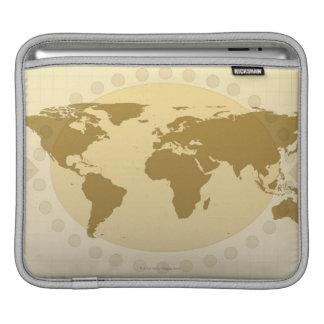 World Map 5 iPad Sleeve