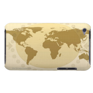 World Map 5 iPod Case-Mate Cases