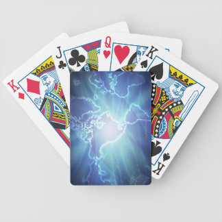 World Map 6 Bicycle Playing Cards