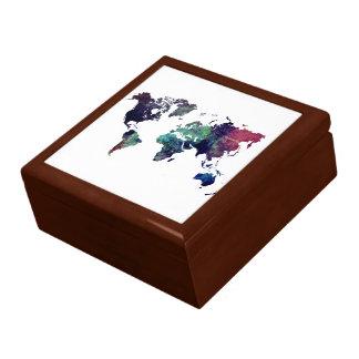 world map 6 gift box