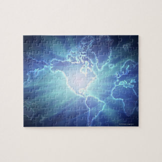 World Map 6 Jigsaw Puzzle