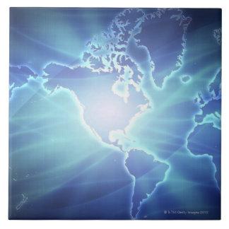 World Map 6 Tile