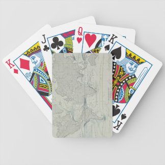 World Map 7 Bicycle Playing Cards