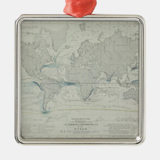 World Map 7 Christmas Ornament