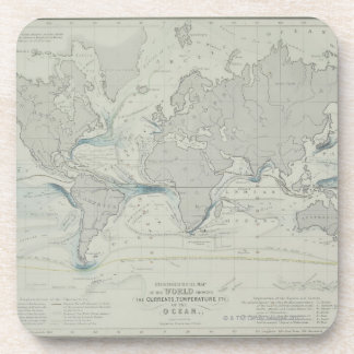 World Map 7 Coaster
