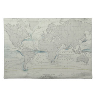 World Map 7 Placemat