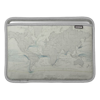 World Map 7 Sleeve For MacBook Air