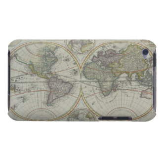World Map 8 Case-Mate iPod Touch Case