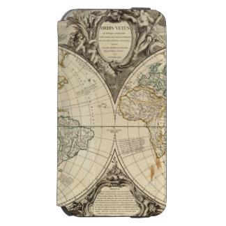 World Map 8 Incipio Watson™ iPhone 6 Wallet Case