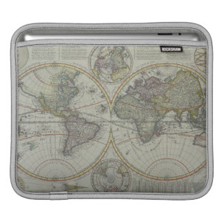 World Map 8 iPad Sleeve