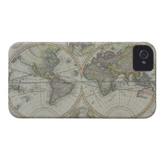 World Map 8 iPhone 4 Case-Mate Case