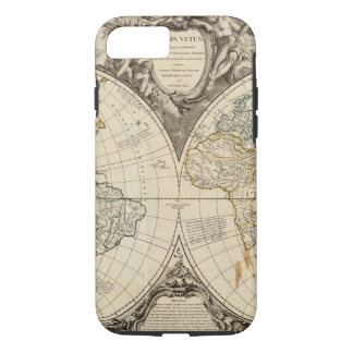 World Map 8 iPhone 8/7 Case
