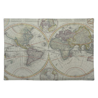 World Map 8 Placemat