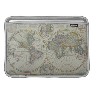 World Map 8 Sleeve For MacBook Air
